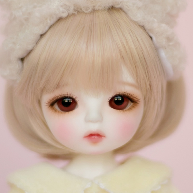 New Arrival 1/6 BJD Doll Fashion LOVELY Cute Lina Doll For With Glasss Baby Girl Birthday Christmas Gift