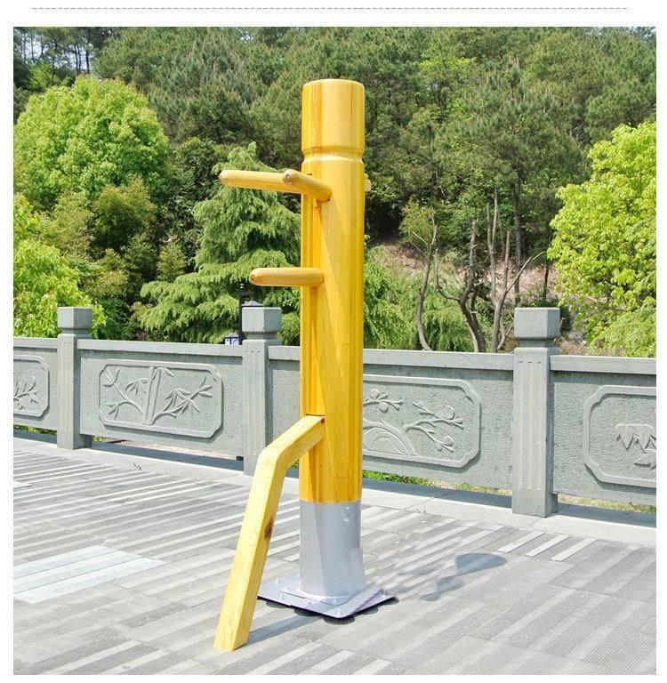Preço de fábrica! Patente Wing Chun Boneco De Madeira, um homem soco treinamento kung fu mook jong, Ip Man artes marciais Chinesas