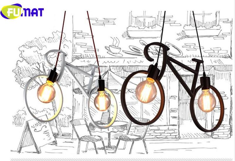 Bicycle Pendant Light 11