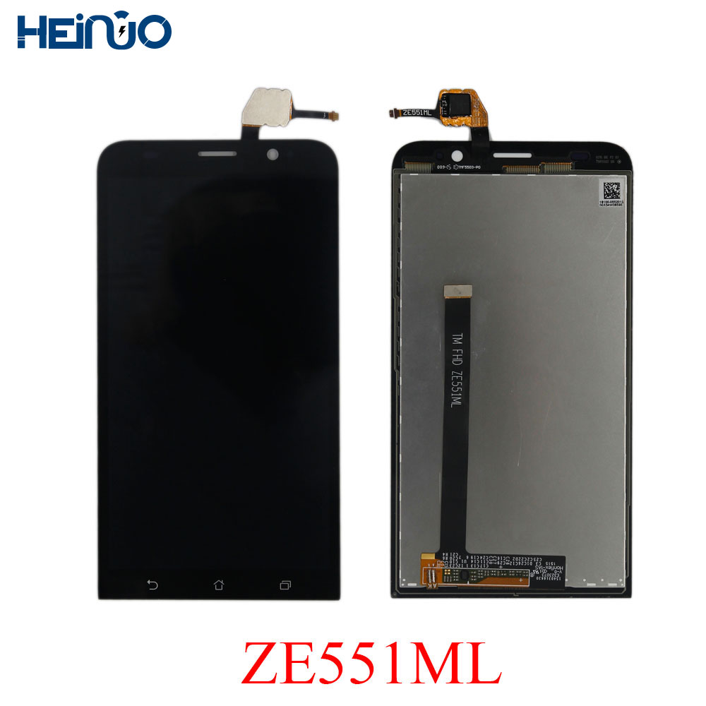Heinuo 5.5'' LCD For ASUS Zenfone 2 ZE551ML LCD Display TouchScreen Panel Digitizer Z00AD LCD Ecran Replacement parts with frame