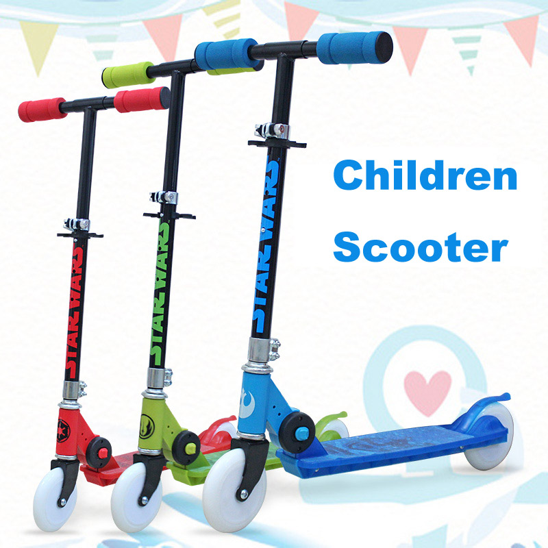 Children Kick Scooter Child Skateboard Teenager 2 Wheel Rollers Foldable Foot Scooter Skateboards Child Sliding Balance Scooter 6 5 adult electric scooter hoverboard skateboard overboard smart balance skateboard balance board giroskuter or oxboard