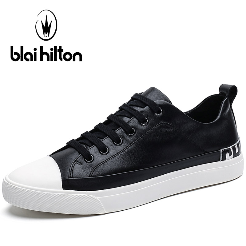 Blaibilton Breathable Men's Sneakers Genuine Leather For Men 2017 Flat Hard Wearing Light Weight Summer Sport Shoes Man Brand peak sport speed eagle v men basketball shoes cushion 3 revolve tech sneakers breathable damping wear athletic boots eur 40 50