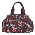 BOBO saco do mensageiro do ombro pacote de pano de nylon casuais versão Coreana de multi-camadas atacado flores coloridas