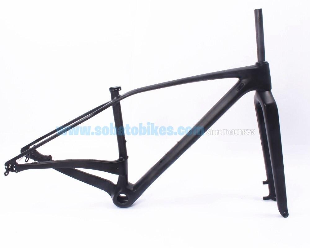 free shipping full carbon fiber bike frame 275 plus29er29 plus29er