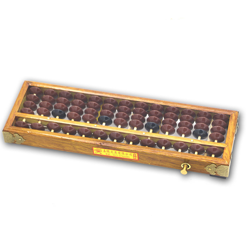 13 column wooden Abacus Chinese soroban Tool In Mathematics Education calculation tool yo021