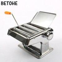 BETOHE 수동 국수 메이커 가정용 파스타 만들기 기계 반죽 롤러 국수 스파게티 커터 파스타 도구 주방