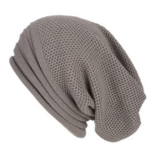 Men Women Baggy Warm Crochet Winter Wool Knit Ski Beanie Skull Slouchy Caps  Hat 40 slouchy b16927046369