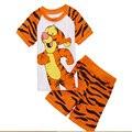 Niños Lindos Pijamas Cortos Set Chicas Sofia Ropa de Verano Fija Los Muchachos de la camiseta + Pantalones de Traje Ropa de Bebé Minnie Ropa de Los Niños
