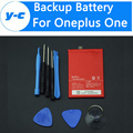 For Oneplus One Battery + Tools Set 100% New BLP571 3100mAh Built-in Battery For One plus 1+ 64GB 16GB Phone In Stock