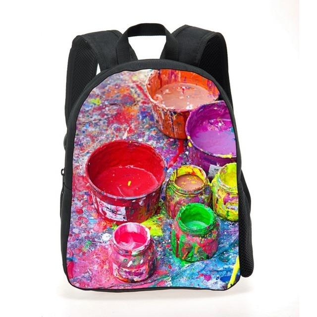 Print Kid Backpack Children S Bags 600d Pvc Balloon Pattern Preschool School
