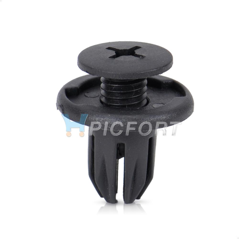 20 Pcs Cowl Panel Retainer Push-Type Clip 91524-SE0-003 For Honda Civic Accord
