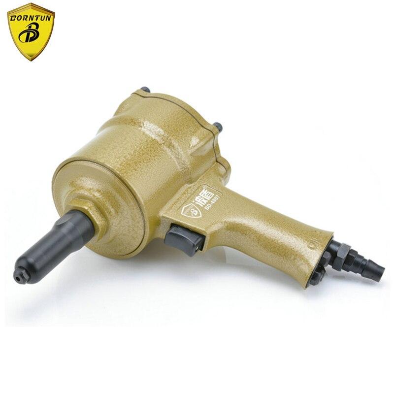 Borntun Pneumatic Air Riveter Riveting Pull Pliers Gun For Rivets 2.4mm 3.2mm 4.0mm 4.8mm Industrial Air Riveters Pulling Puller