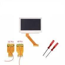 Новый для Gameboy Advance MOD ЖК-Подсветка Комплект 32 или 40 Контактный для GBA SP AGS-101 С Подсветкой Экрана
