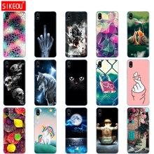 Siliconen Case Voor Xiaomi Redmi 7a Gevallen Volledige Bescherming Zachte Tpu Cover Op Redmi 7 Een Bumper Hongmi 7a telefoon Shell Tas Coque
