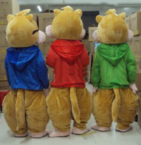 BING RUI CO Shitje e nxehtë! Kostum nuskie Alvin dhe Chipmunks New - Kostumet - Foto 3