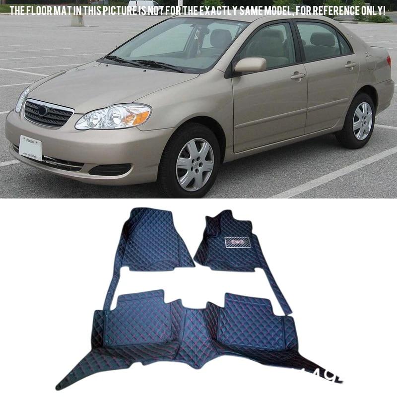 2005 2004 Passenger /& Rear Floor GGBAILEY D4359A-S1A-PNK Custom Fit Car Mats for 2003 2006 2007 Saturn Ion Sedan Pink Driver