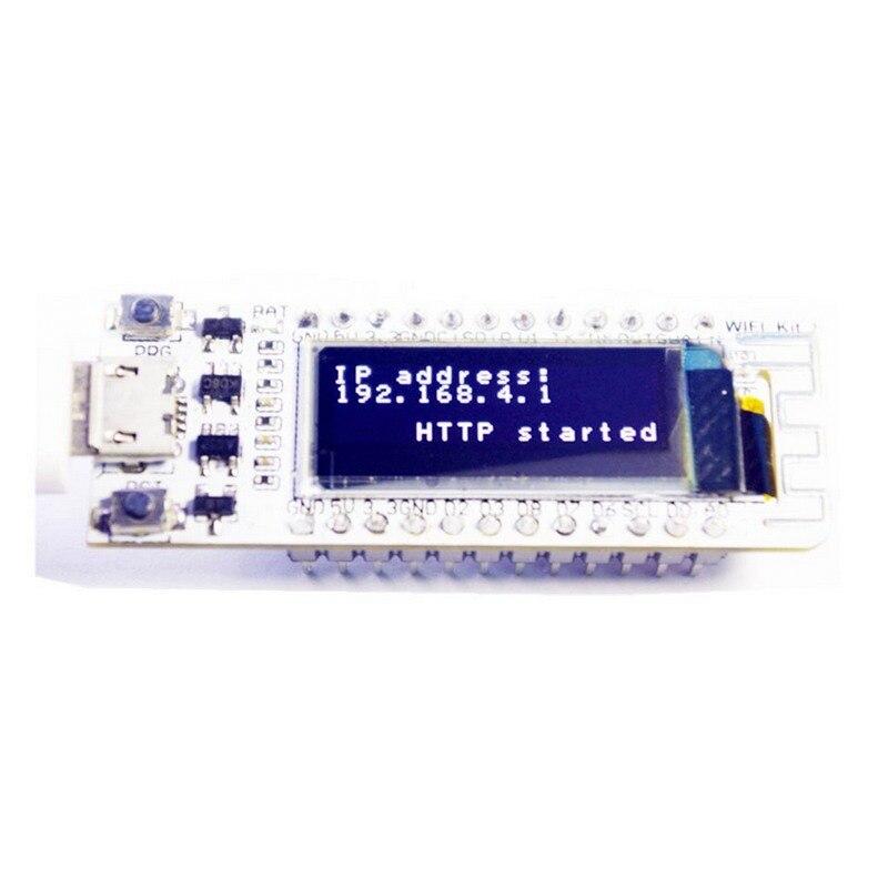 ESP8266 WI-FI Chip de 0.91 polegada OLED CP2014 32Mb Flash Placa PCB para NodeMcu ESP 8266 Módulo Internet das coisas para Arduino IOT