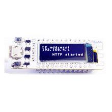Esp8266 wifi chip 0.91 polegada oled cp2014 32mb flash esp 8266 módulo de internet das coisas placa pcb para nodemcu para arduino iot
