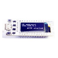 ESP8266 wifi чип 0,91 дюймов OLED CP2014 32Mb Flash ESP 8266 модуль Интернет вещей плата PCB для NodeMcu для Arduino IOT