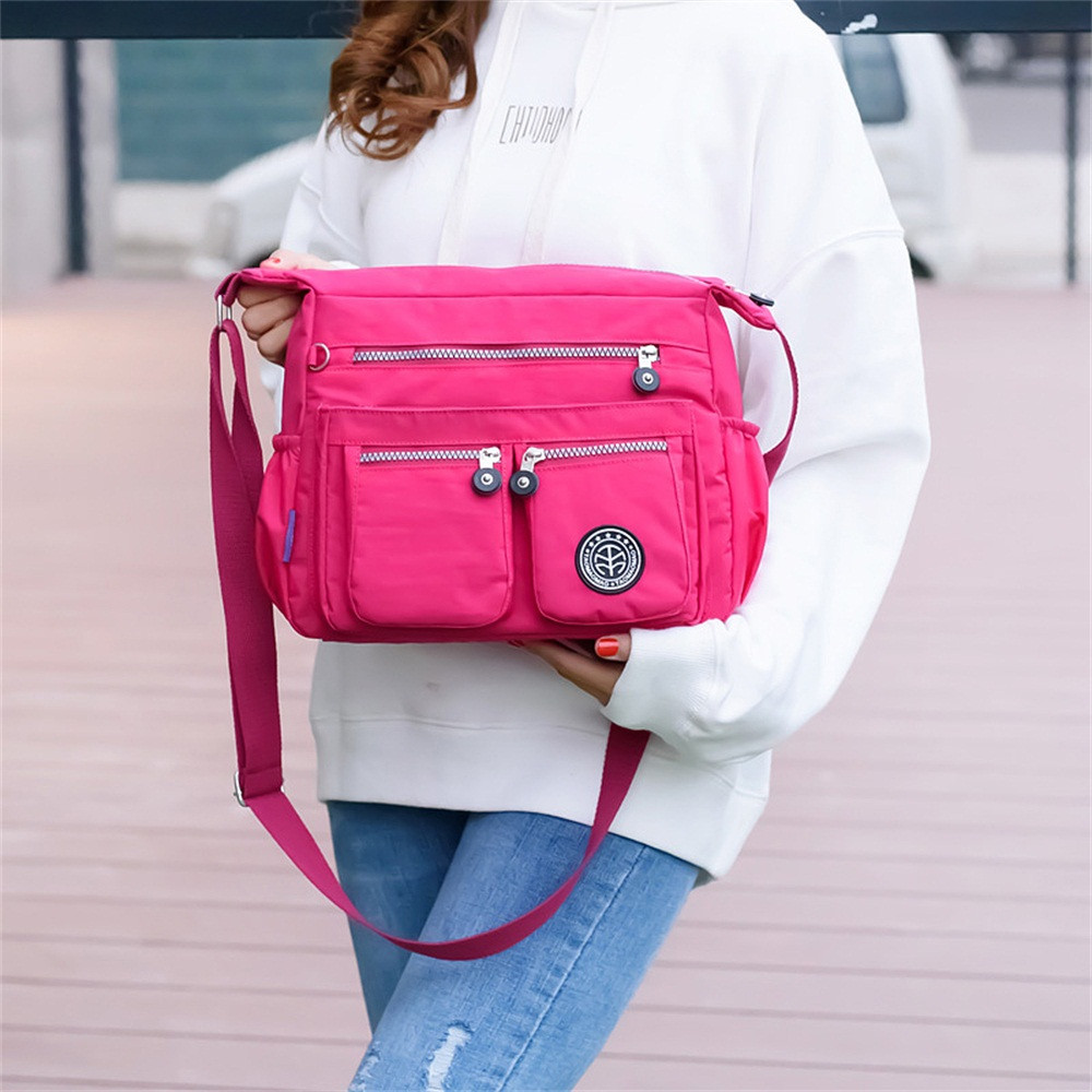 Messenger Bags For Waterproof Nylon Handbag Female Shoulder Bag Ladies Crossbody Bags Bolsa Sac A Main