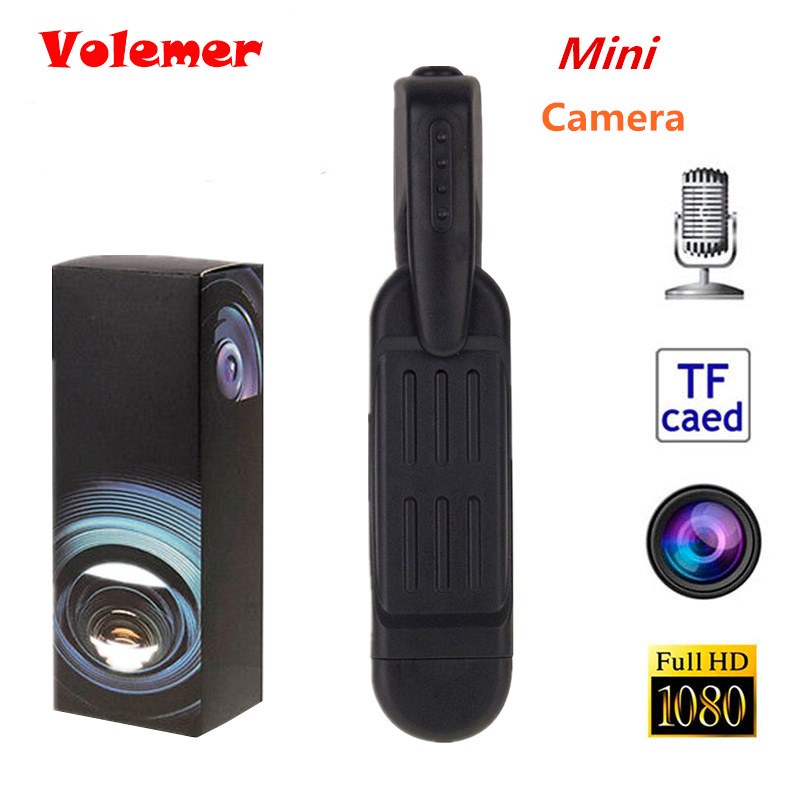 Mini cámara Volemer T189 Mini DV videocámara HD 1080 p P 720 p Micro pluma cámara Video grabadora de voz Mini Camara cámara Digital