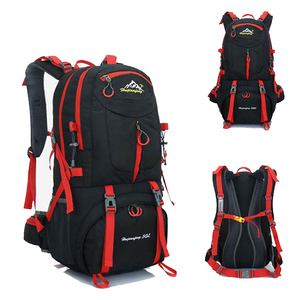 Image 5 - 60L unisex men backpack travel pack sports bag pack waterproof Outdoor Mountaineering Hiking Climbing Camping backpack for male
