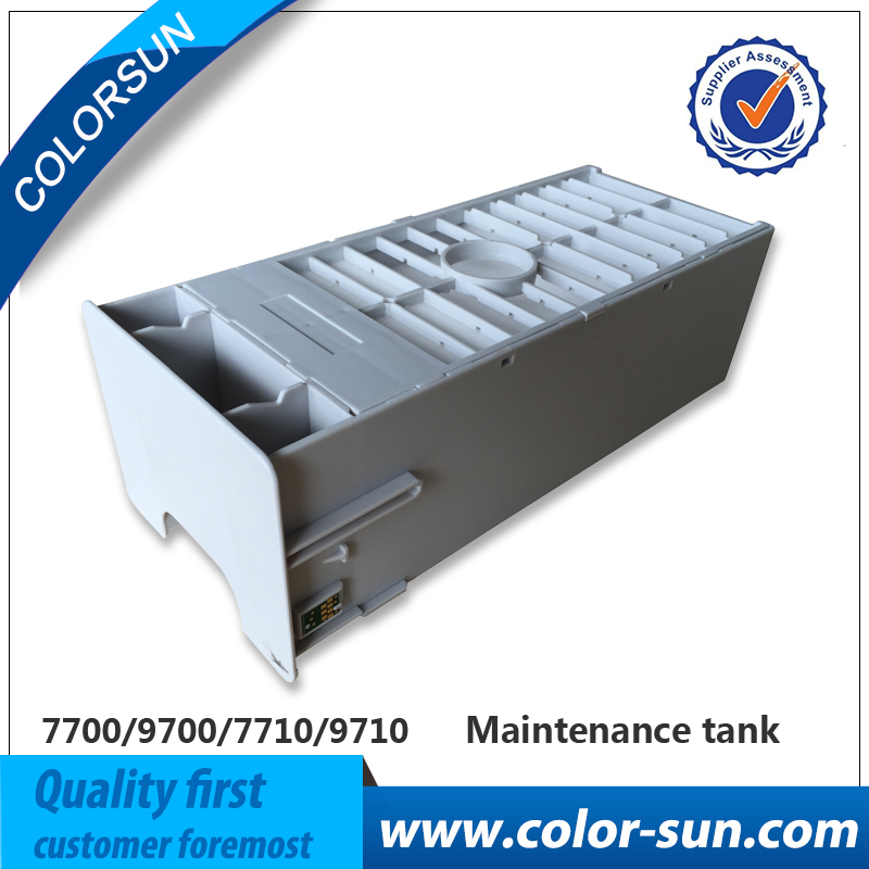 New Waste Ink Tank Maintenance Tanks with Chip For Epson 7700/9700/7710/9710 Printer waste ink tank maintenance tank with chip for epson 7700 9700 7710 9710 printer