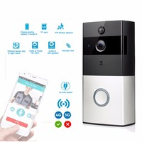 Wireless WiFi Video Doorbell Battery Low Power Smart HD 2 4G Phone Remote PIR Motion With