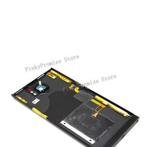 Image 3 - أفضل نوعية غطاء البطارية الإسكان الباب الخلفي الحال بالنسبة لبلاك بيري Priv مع كاميرا خلفية عدسة الهاتف المحمول استبدال أجزاء