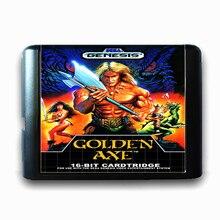 Golden Axe 16 bits da Sega MD Cartão de Jogo para o Mega Drive para Genesis NTSC