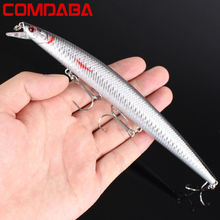1PCS 18.5cm 24.5g Wobbler Fishing Lure Big Minnow Crankbait 3 hooks Peche Bass Trolling Artificial Bait Pike Carp