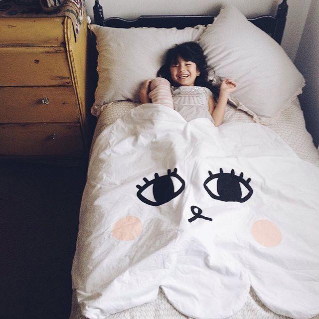 Cartoon Lächeln Wolke Babydecke Baumwolle Swaddle Me Crawling Pad - Haustextilien - Foto 3