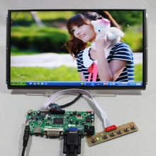 HDMI VGA DVI lcd Control board with 13 3inch LP133WD1 SLA1 1600x900 ips lcd