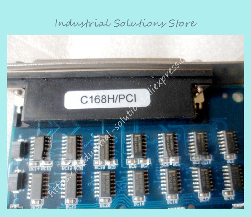 Industrial motherboard Card C168H/PCI 8 port RS-232 100% tested perfect quality коврик автомобильный novline autofamily для skoda superb седан 2008 в багажник