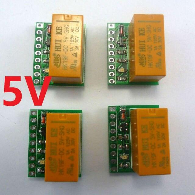 4pcs mini Ultra light DPDT Relay Board for Motor reversing