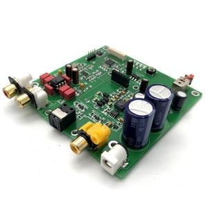Image 3 - ES9038 Q2M I2S DSD Decoder Coaxiale Fiber Ingang DAC Decodering Boord HIFI Audio Versterker Board F7 003