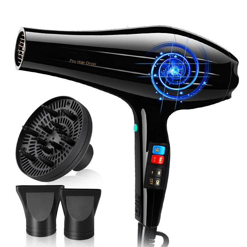 Hair Dryers high-power Dryers, negative ion hot and cold salons, professional air blowers цена и фото