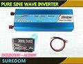 Frete grátis inversor 4000 w pico de onda senoidal pura inversor 2000 w watt doxin potência do inversor 12 v 220 v de onda senoidal pura