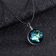 Fantasy Starry Sky Romantic Pendant Necklace