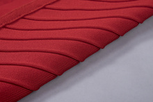 INDRESSME 2017 New Arrival Fashion Mini O Neck Sexy Sleeveless Solid Red Black Summer Bandage Women's Lady Dress Femme Vestidos