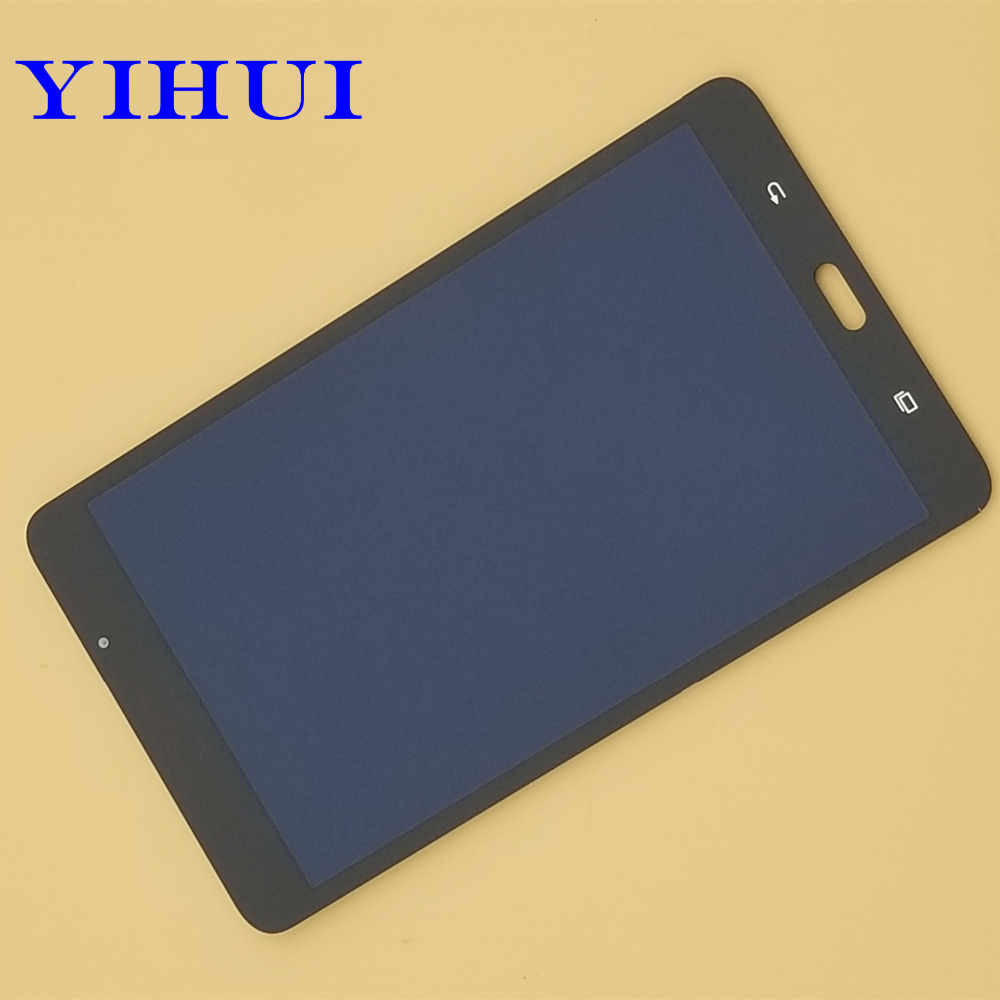 YIHUI For Samsung Galaxy Tab A 7.0 LTE SM-T280 T280 Touch Screen Glass Digitizer with full LCD Display Assembly Replacement Part new 5 black lcd display glass touch digitizer screen assembly for acer liquid z530 lte t02 replacement