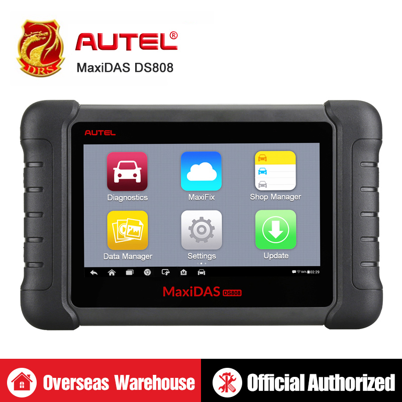 Autel MaxiDAS DS808 Outil De Diagnostic À Distance WIFI OBD2 Scanner Voiture outil d'analyse Clé Programmation Scanner de Diagnostic outil automobile