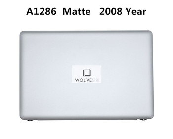 Assembly A1286 2008 Matte 100% New and Original for Macbook Pro 15.4'' A1286 Matte LCD Screen Full assembly 2008 Year