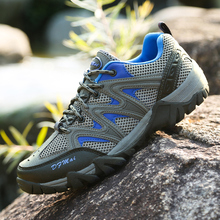 Original Brand Men Hiking Shoes Climbing Boots Breathable Outdoor Sports Trekking Sneakers Free Shiping