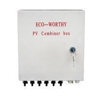 Eco worthy 6 String Solar блок объединения солнечная батарея W автоматические выключатели Surge Lightning защита