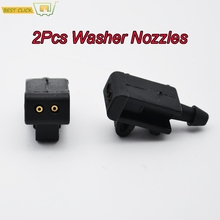 Misima Windshield Windscreen Wiper Washer Nozzles Jet Set For Renault Grand Scenic 2 Megane 2 Laguna 3 Fluence Front Window cheap ABS Plastic 0 02kg Cleaning 1inch ISO9001 None
