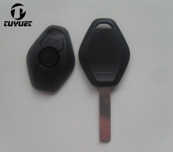 Remote Car Key Case FOB Shell For BMW 3 5 7 Series 325 325i 325ci 330 330i 325 325i 525 525i X5 X3 Z3 Z4 With Logo HU92 Blade image