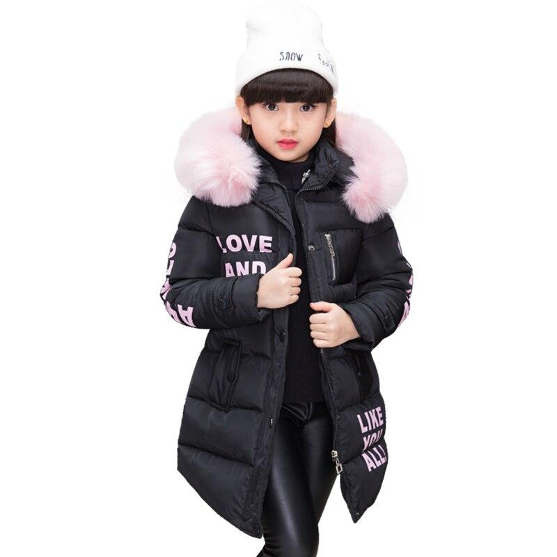 c2f32834 ... invierno de algodón acolchado chaqueta niños abrigo de moda de los niños  prendas de vestir exteriores bebé caliente abajo chaqueta niños ropa 4-12  años