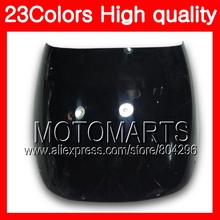 23Colors Windscreen For HONDA VFR400RR NC24 VFR400 RR VFR 400RR RVF 400 RR 87 88 1987 1988 Chrome Black Clear Smoke Windshield