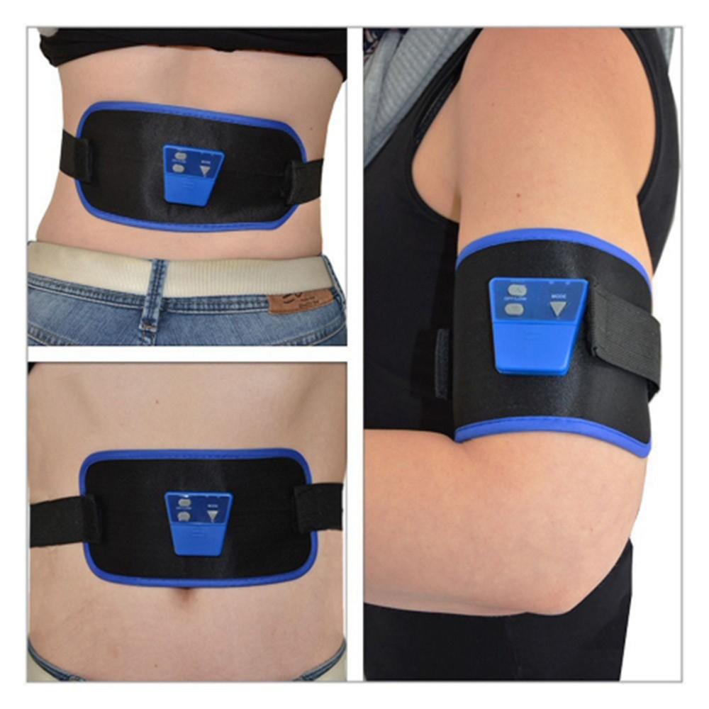 2-Adjustable-Waist-and-Leg-Straps-AB-Gymnic-Front-Muscle-Arm-leg-Waist-Abdominal-Massage-Slim